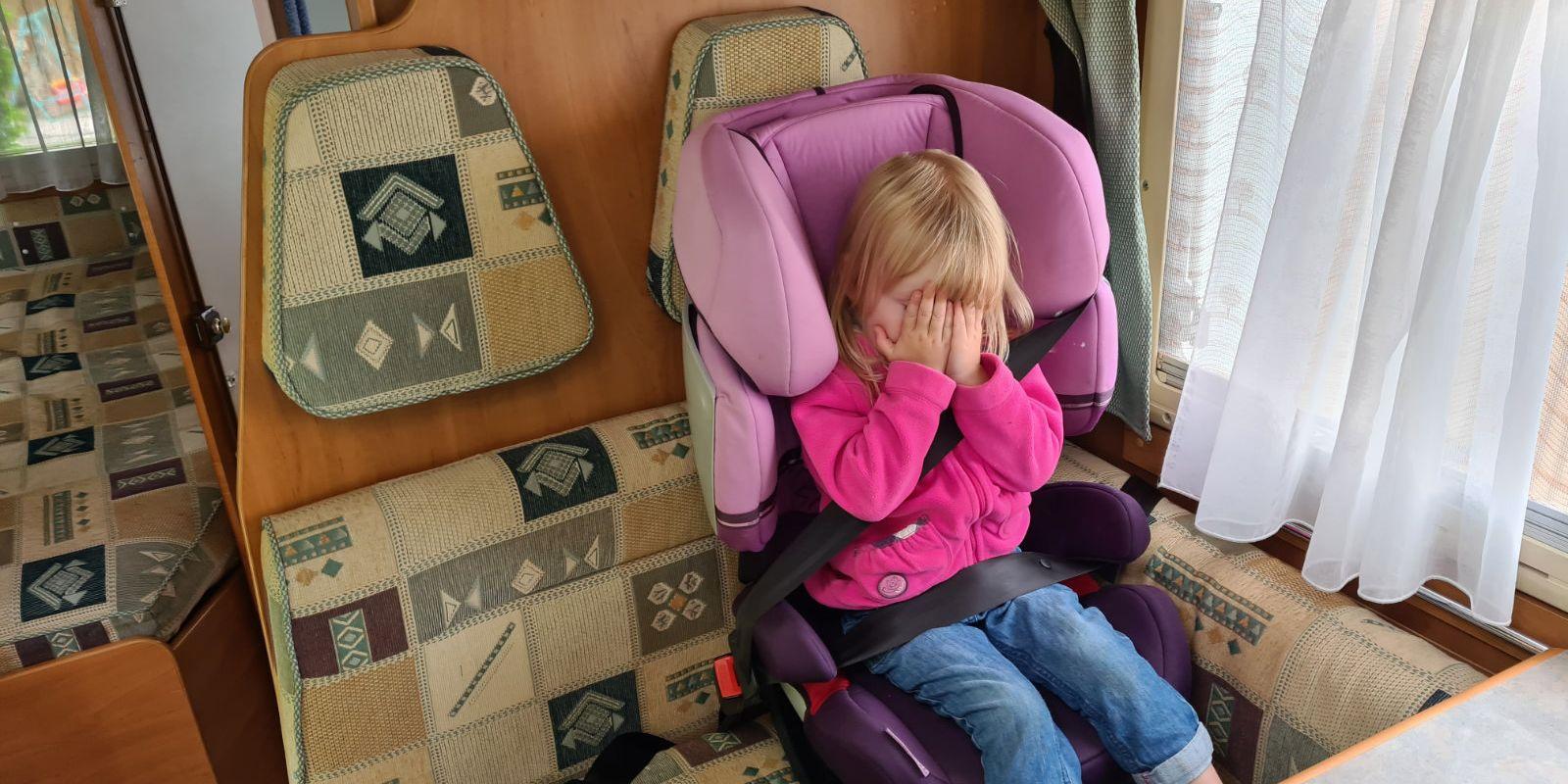 <span>Kindersitz im Wohnmobil richtig befestigen</span>